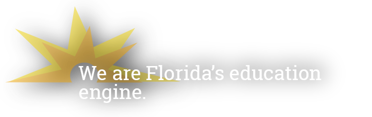 We Are Florida's Education Engine