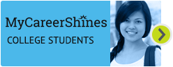 MyCareerShines for college students Hover