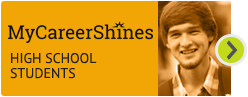 MyCareerShines for high school students Hover