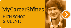 MyCareerShines for high school students