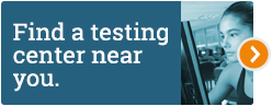 Find a testing center near you