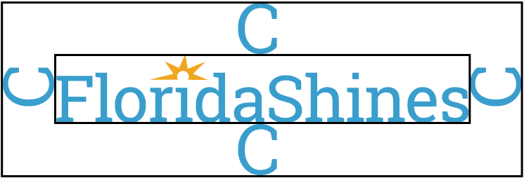 The FloridaShines logo with tagline that reads student hub for innovative educational services